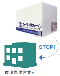 佐川急便営業所受取サービス